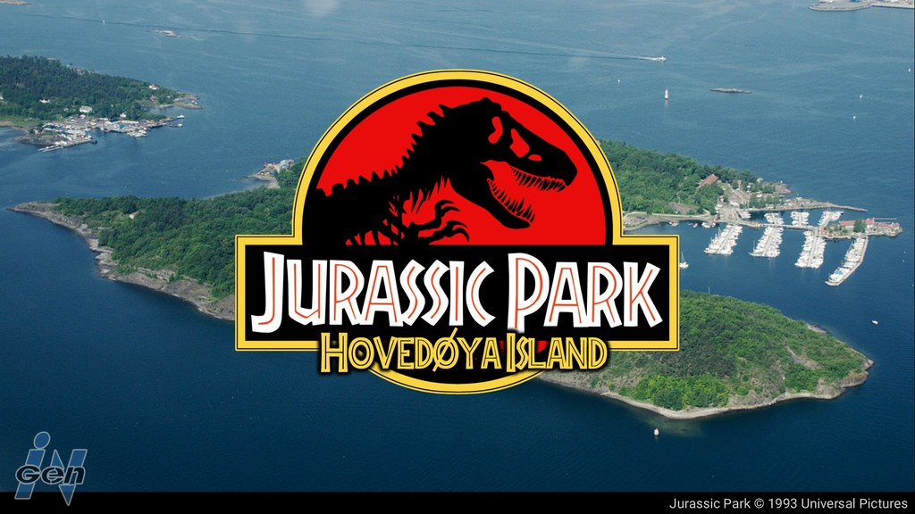 Jurassic Park © 1993 Universal Pictures Hovedoy...