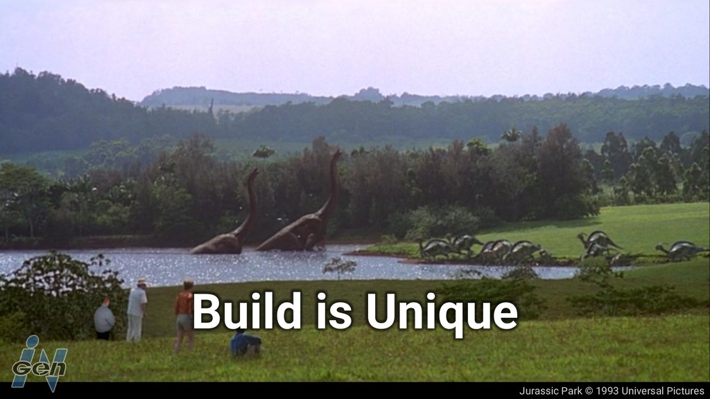 Jurassic Park © 1993 Universal Pictures Build i...