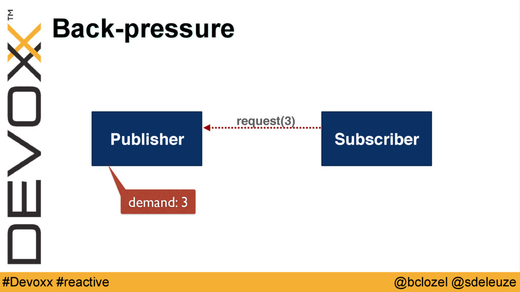 @bclozel @sdeleuze #Devoxx #reactive Back-press...