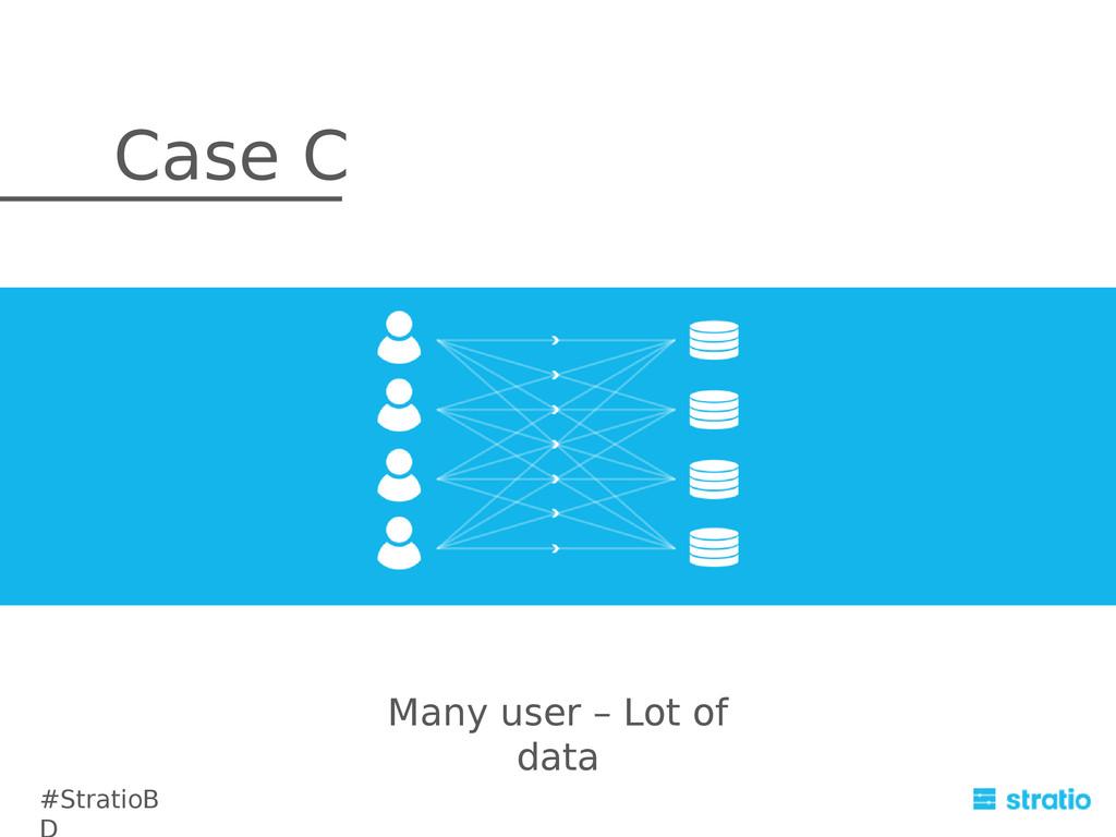 Many user – Lot of data Case C #StratioB