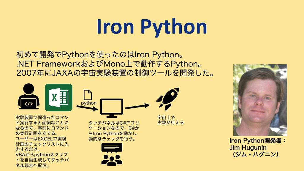 Iron Python *SPO1ZUIPO։ൃऀɿ +JN)VHVOJO ʢδϜɾϋάχ...