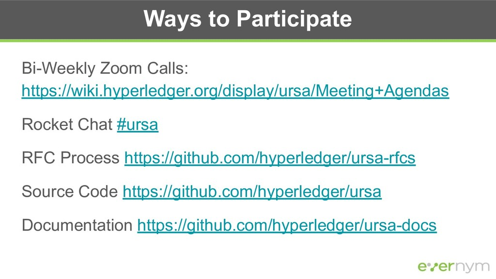 Ways to Participate Bi-Weekly Zoom Calls: https...