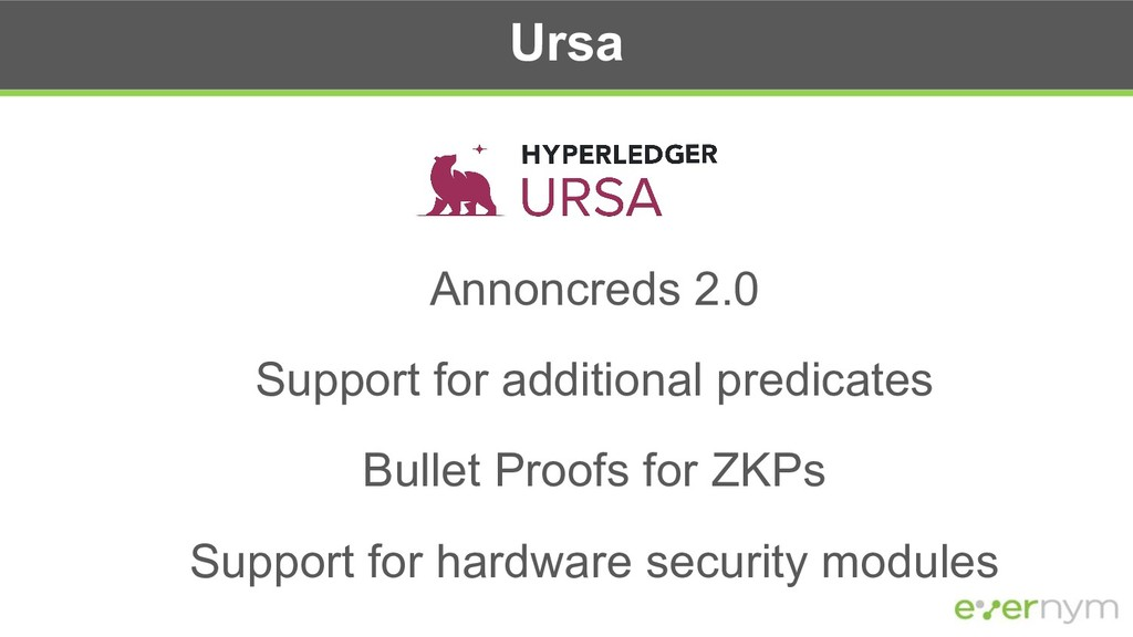 Ursa Annoncreds 2.0 Support for additional pred...