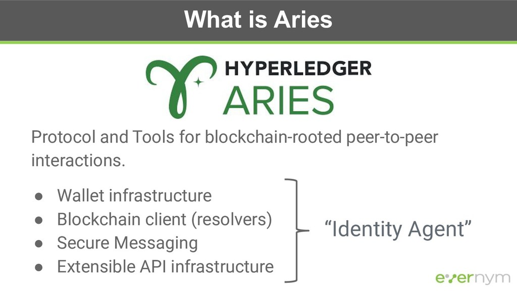 What is Aries Protocol and Tools for blockchain...