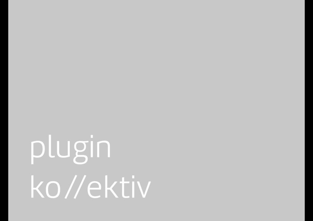 plugin ko//ektiv