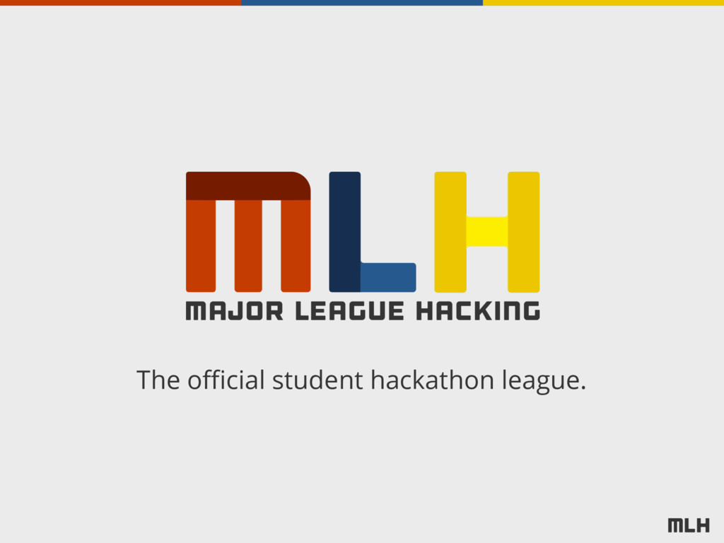 The official student hackathon league.