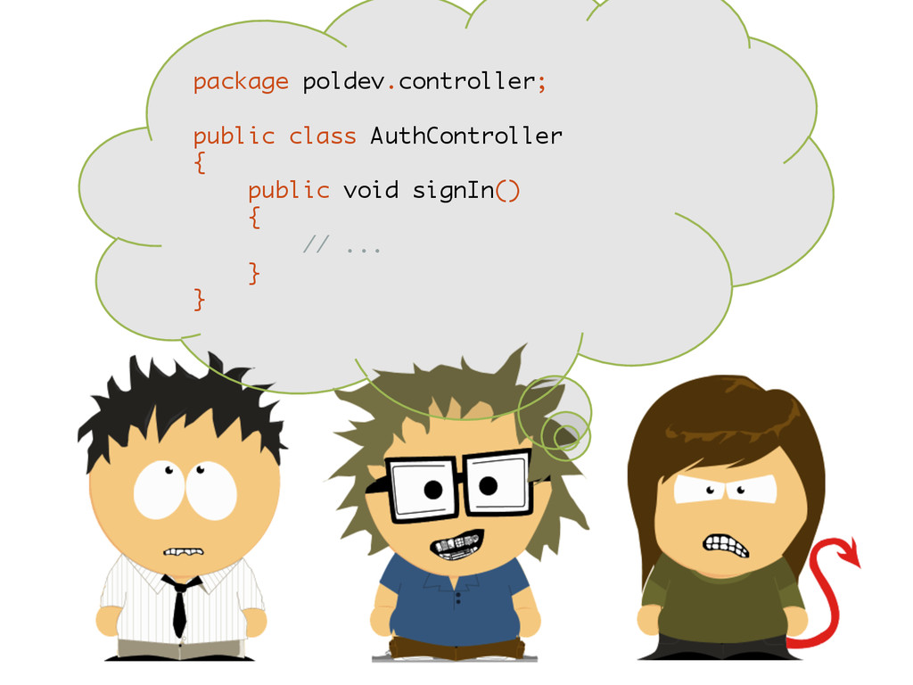 package poldev.controller; public class AuthCon...