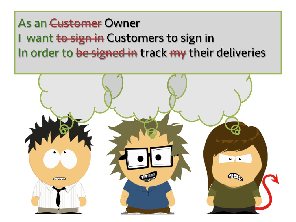 As an Customer Owner I want to sign in Customer...