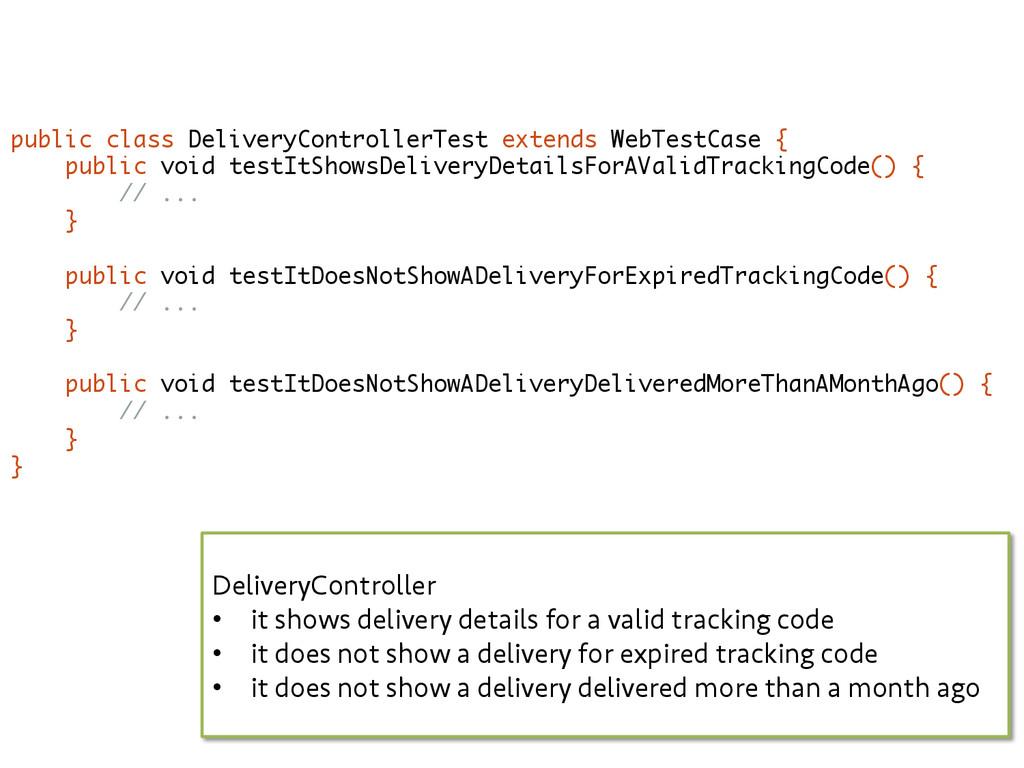 public class DeliveryControllerTest extends Web...
