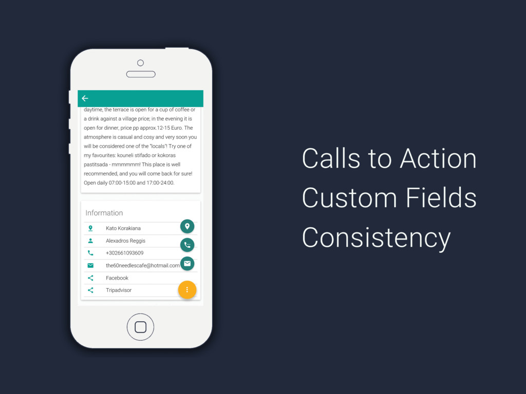 Calls to Action Custom Fields Consistency