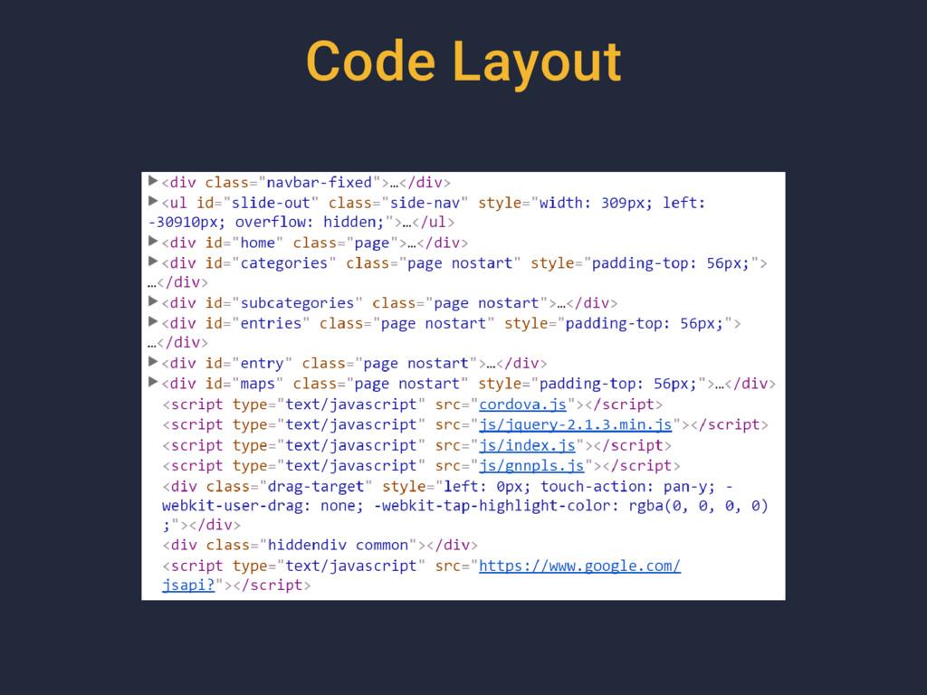 Code Layout