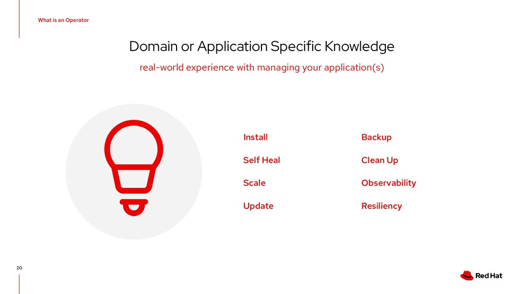 What is an Operator Domain or Application Speci...