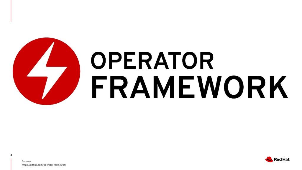 4 Sources: https://github.com/operator-framework