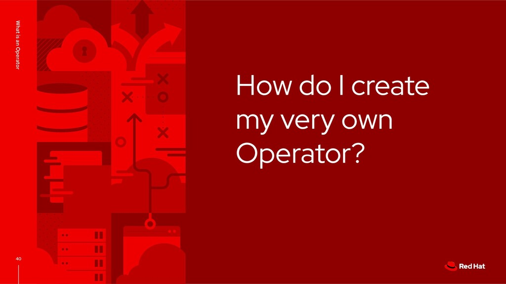 How do I create my very own Operator? What is a...