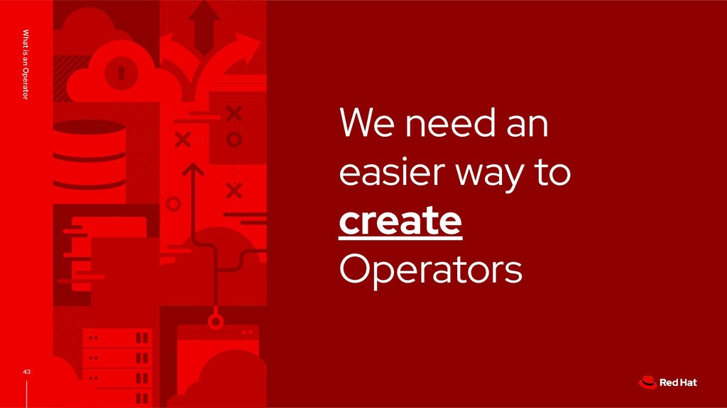We need an easier way to create Operators What ...