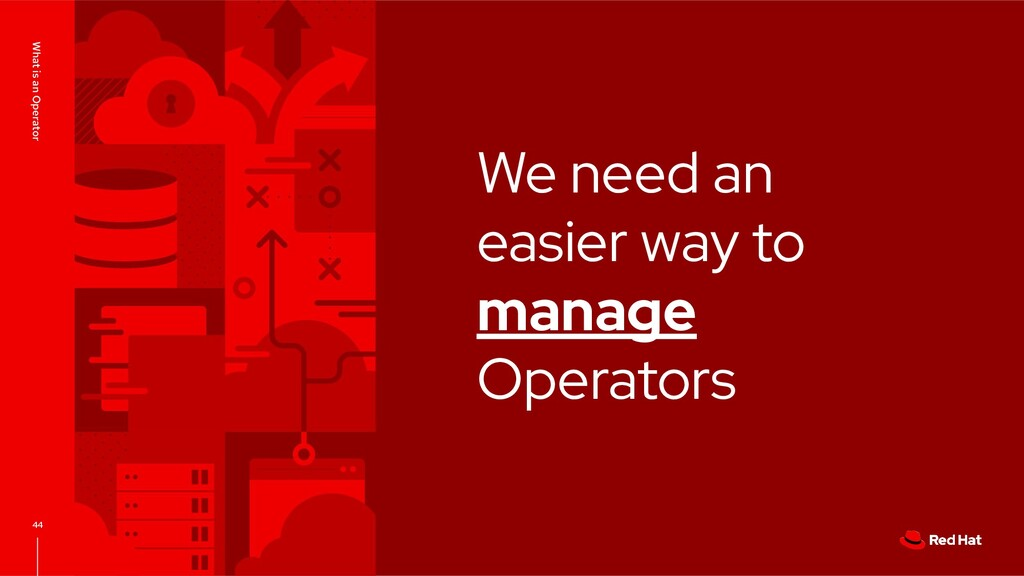 We need an easier way to manage Operators What ...