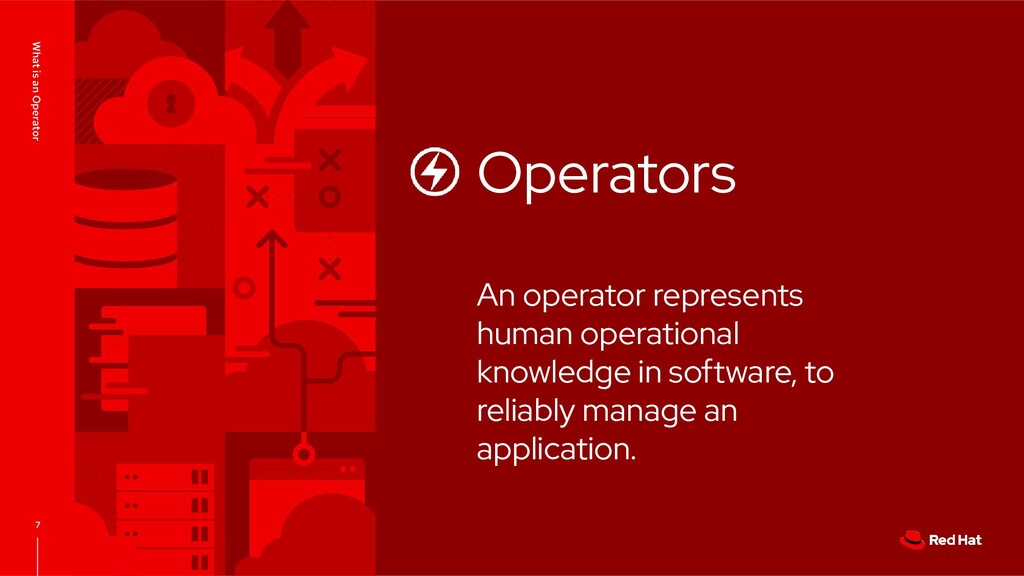 What is an Operator 7 Operators An operator rep...