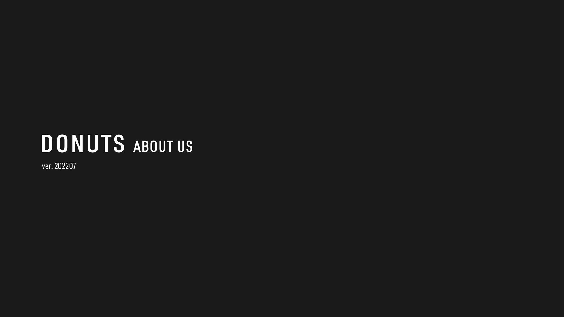 ver. 202105 ABOUT US