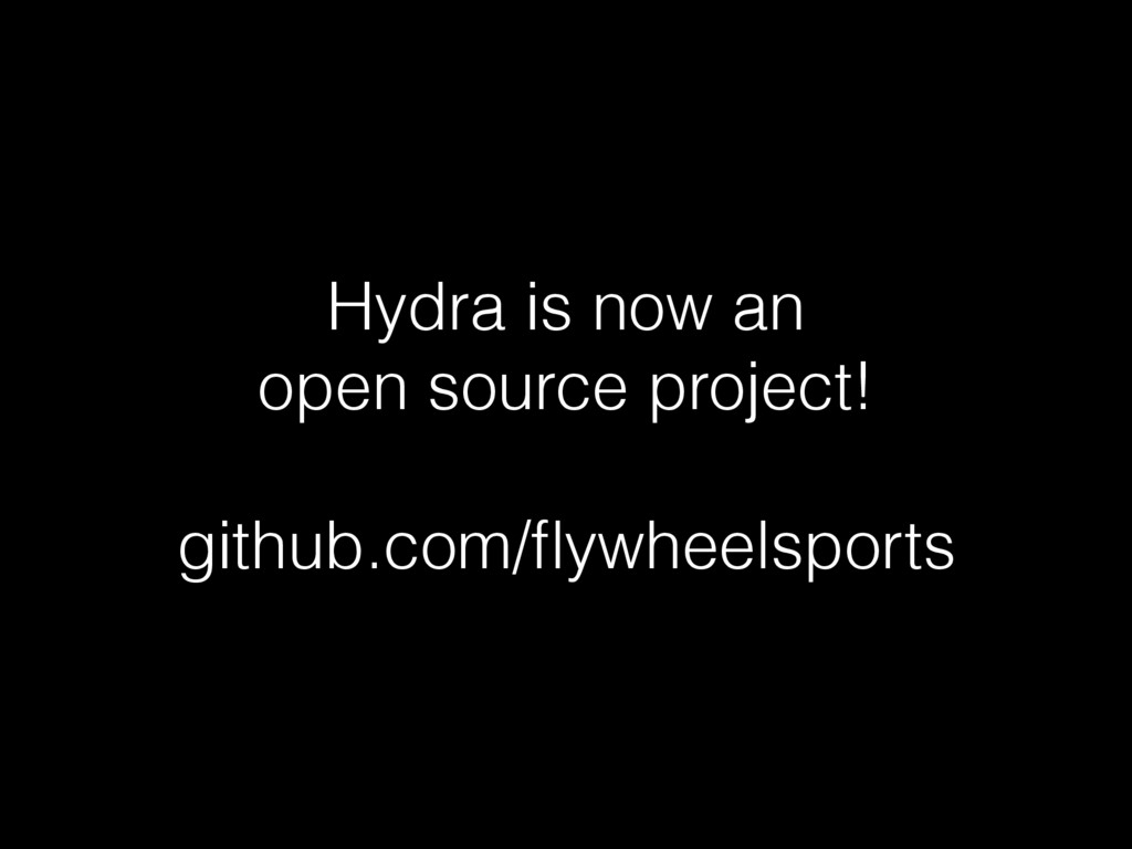 Hydra is now an