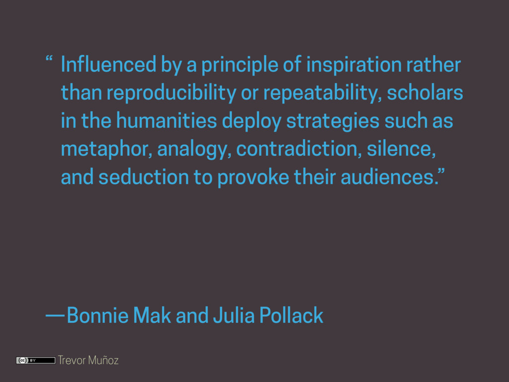 Trevor Muñoz Bonnie Mak and Julia Pollack — Inf...