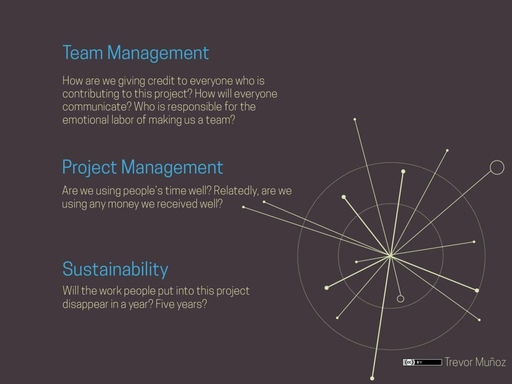 Trevor Muñoz Project Management Are we using pe...