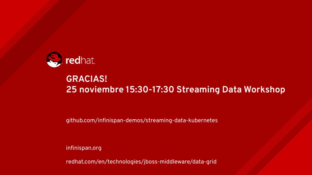 GRACIAS! 25 noviembre 15:30-17:30 Streaming Dat...