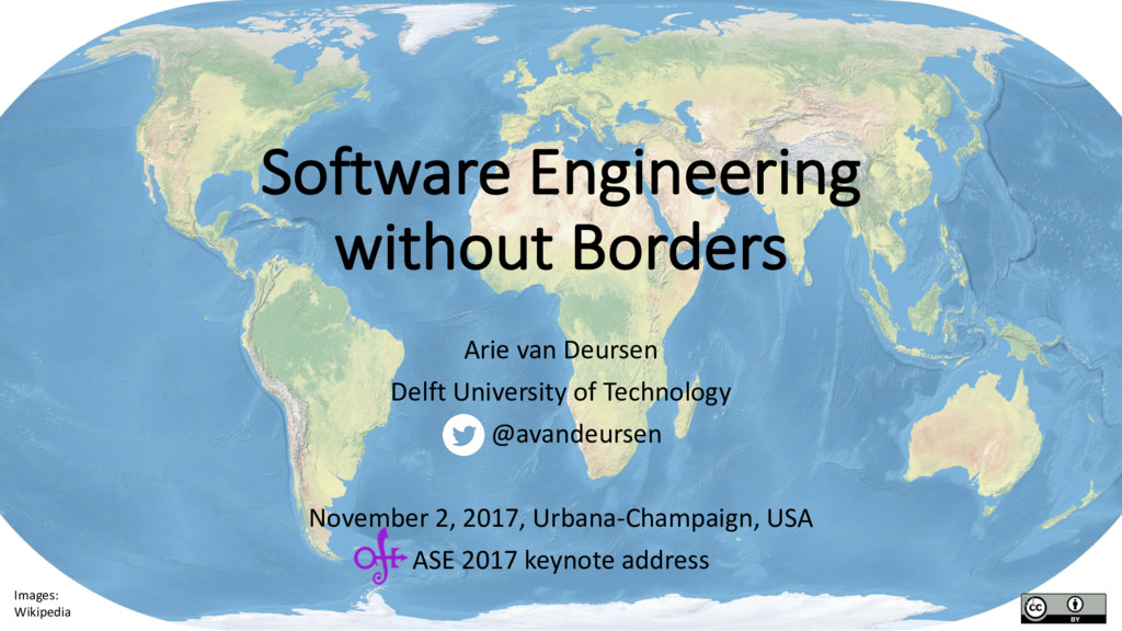 Software Engineering without Borders Arie van D...