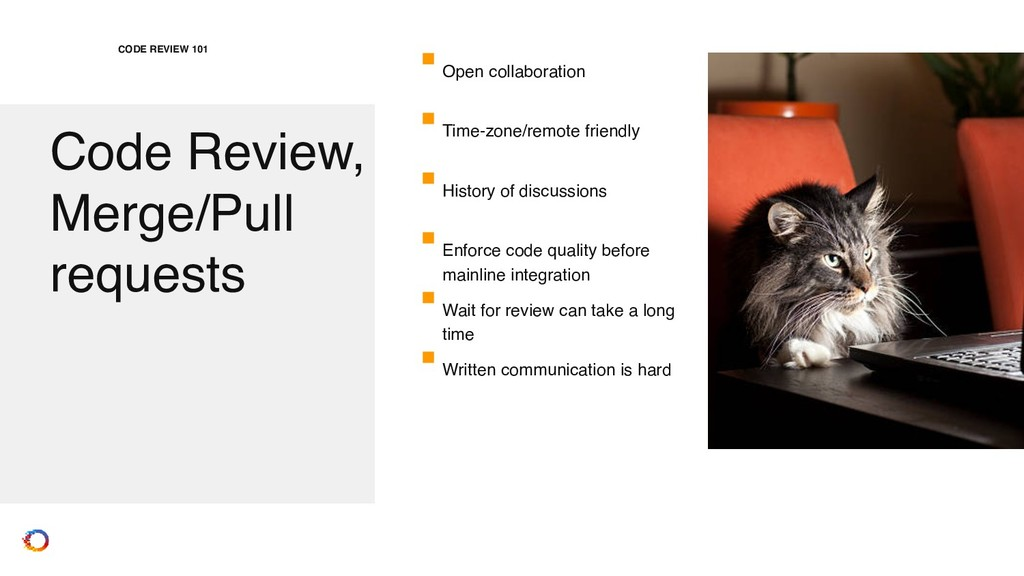 Code Review, Merge/Pull requests CODE REVIEW 10...