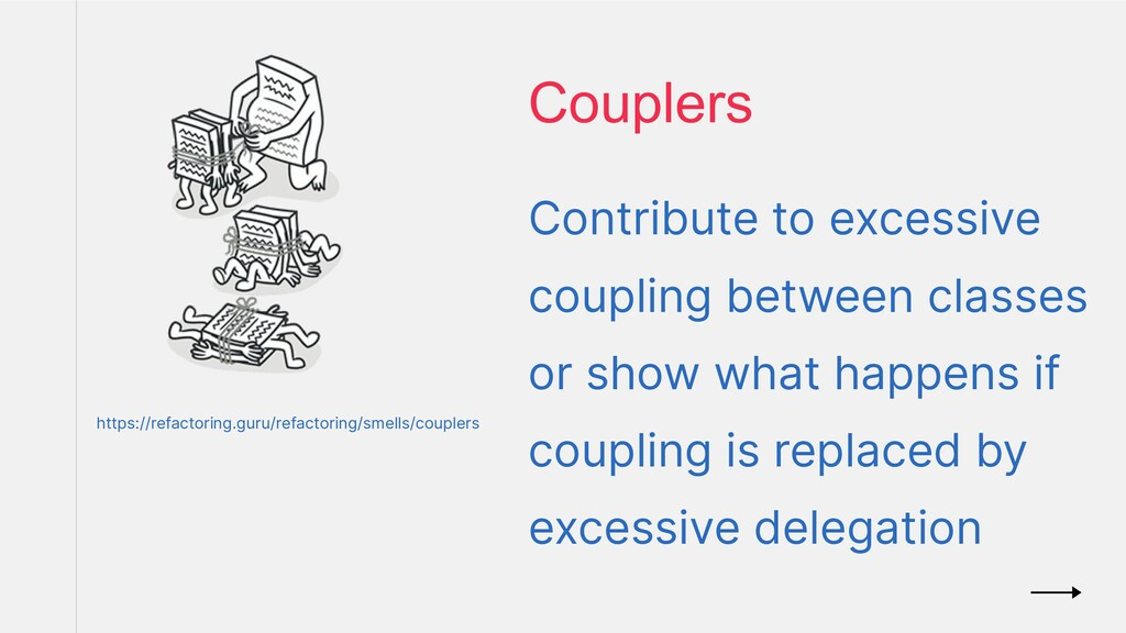 Contribute to excessive coupling between classe...