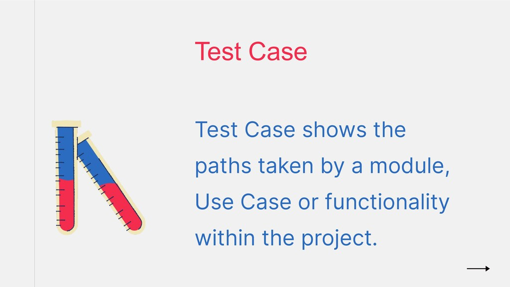 Test Case shows the paths taken by a module, Us...