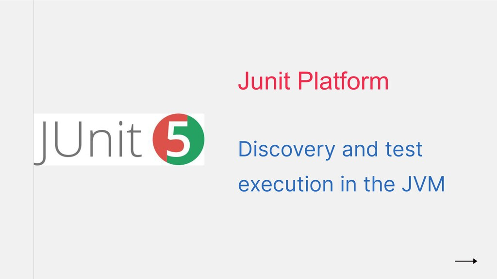 Discovery and test execution in the JVM Junit P...