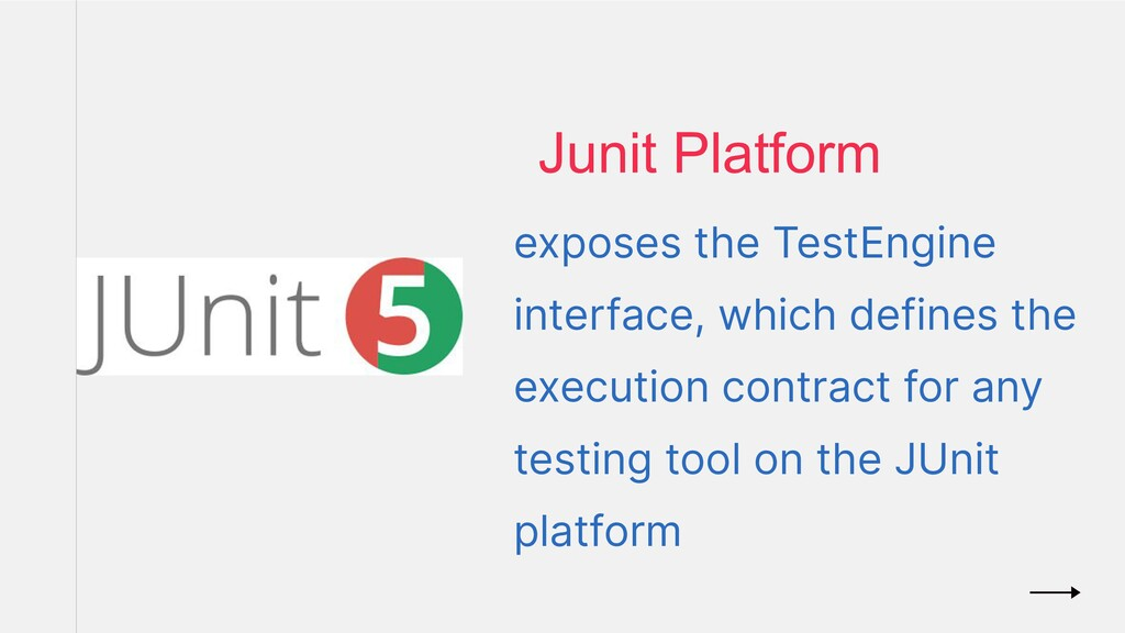 exposes the TestEngine interface, which defines...