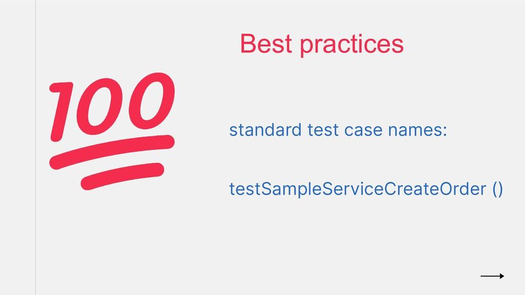 standard test case names: testSampleServiceCrea...