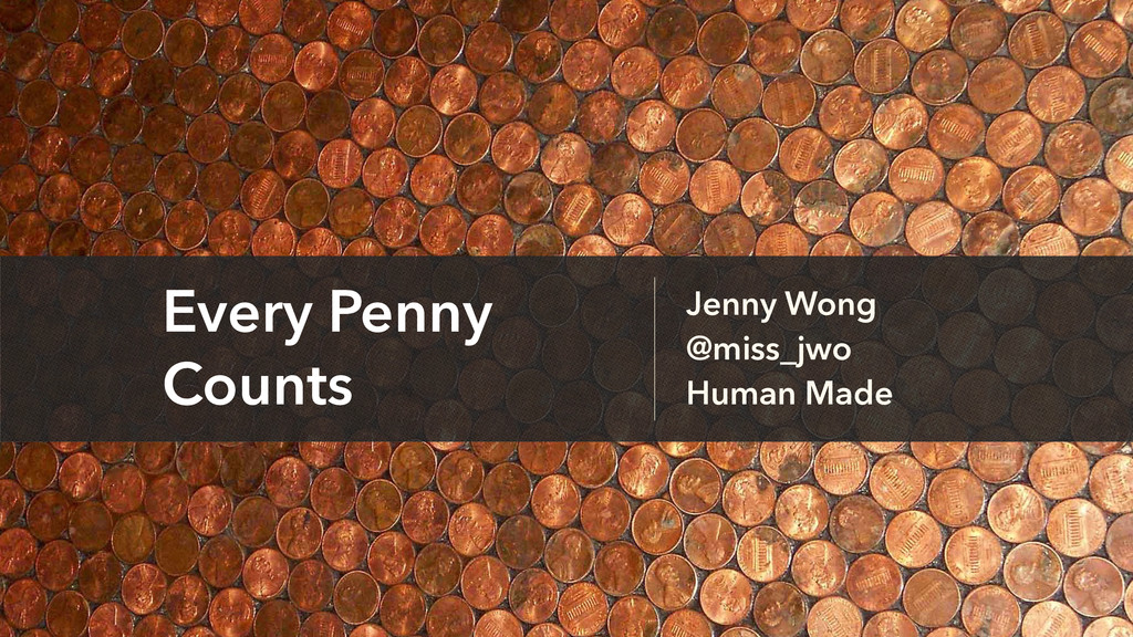 Jenny Wong @miss_jwo Human Made Every Penny Cou...