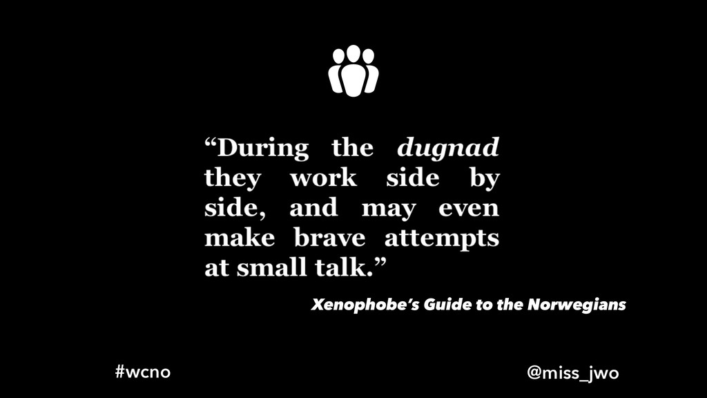 @miss_jwo #wcno Xenophobe's Guide to the Norweg...
