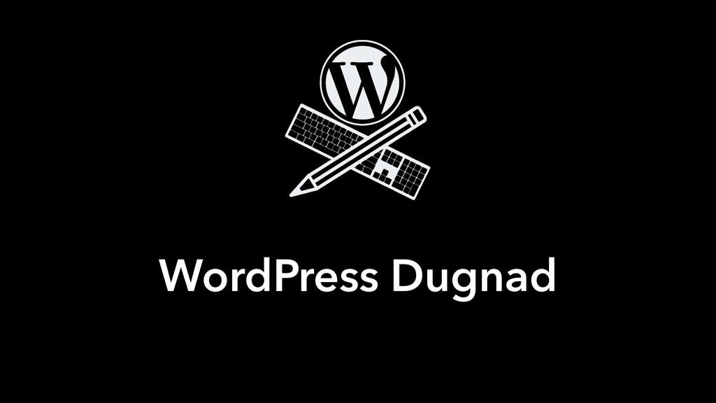 WordPress Dugnad