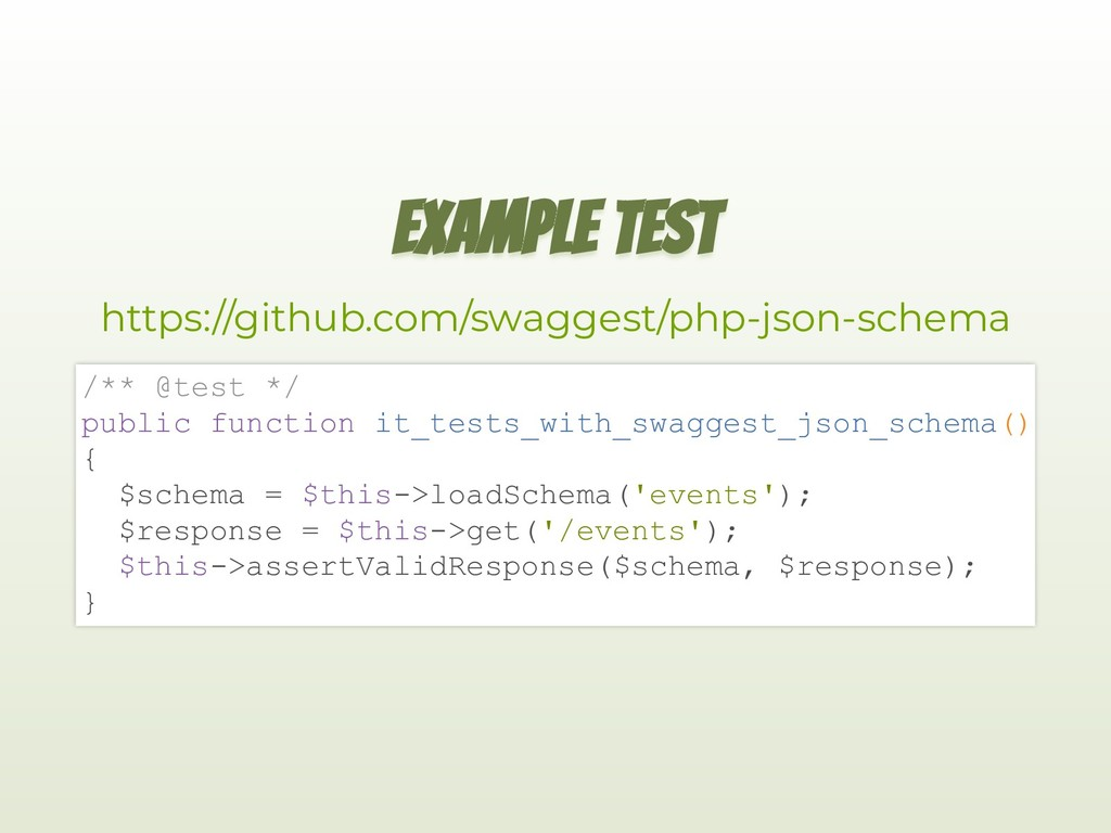 EXAMPLE TEST https://github.com/swaggest/php-js...