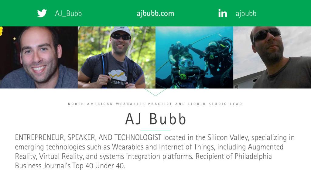 AJ_Bubb ajbubb ajbubb.com AJ Bubb N O R T H A M...