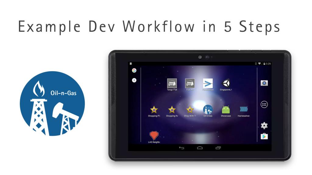 Example Dev Workflow in 5 Steps