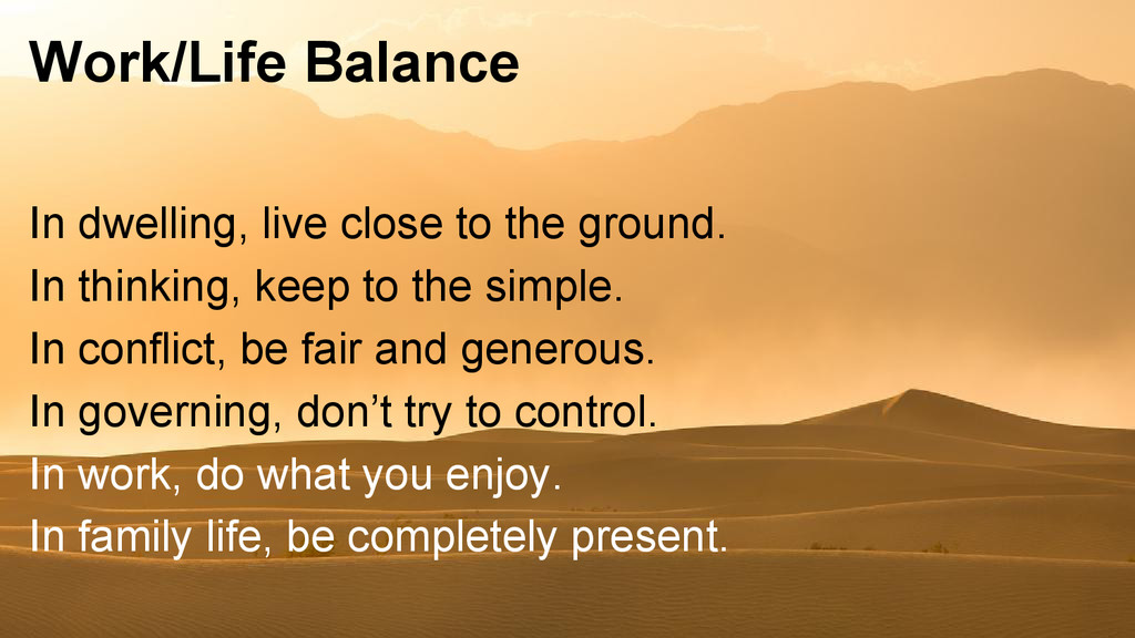 Work/Life Balance In dwelling, live close to th...