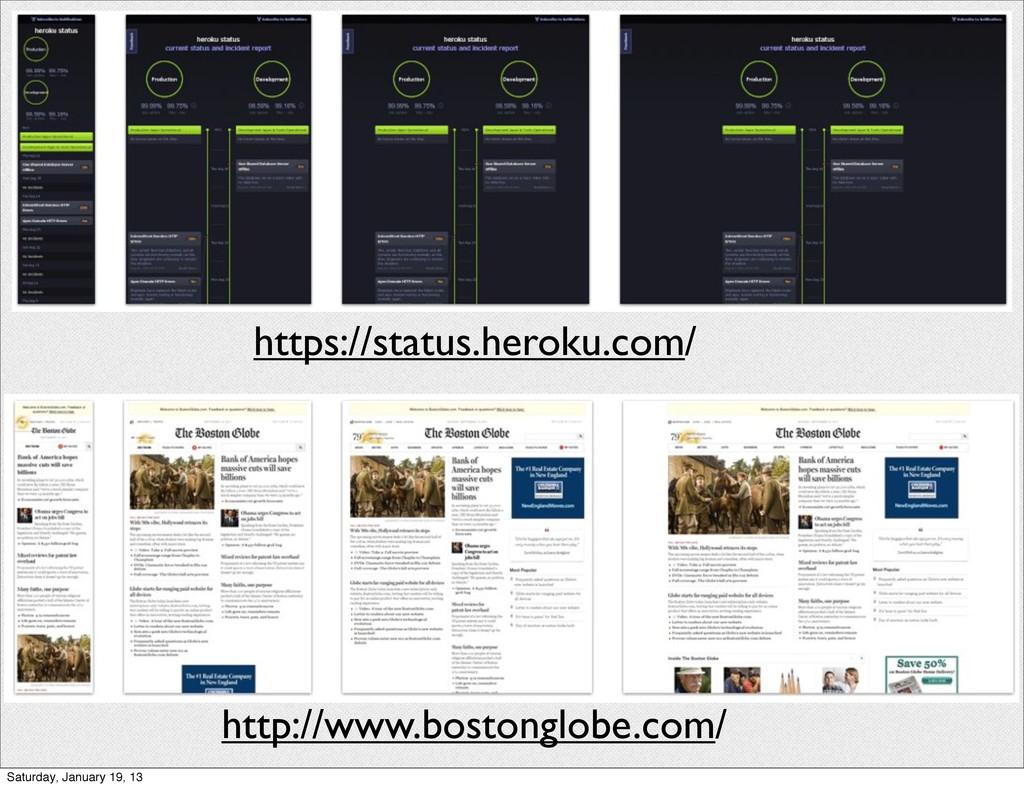 https://status.heroku.com/ http://www.bostonglo...