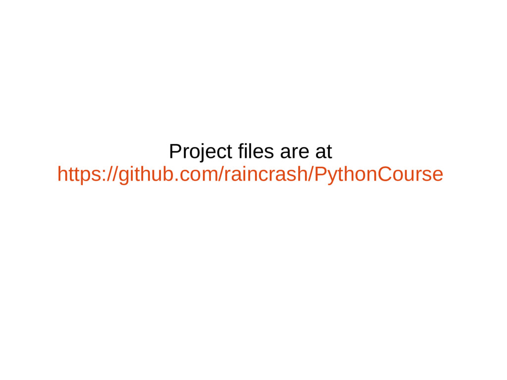 Project files are at https://github.com/raincra...