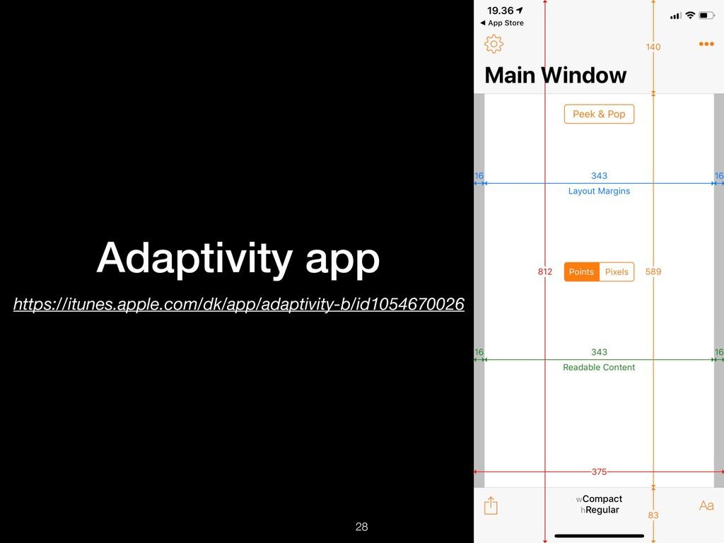 Adaptivity app https://itunes.apple.com/dk/app/...