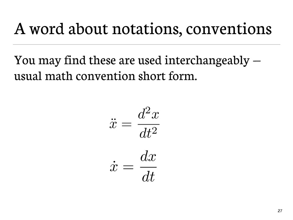 A word about notations, conventions You may fin...