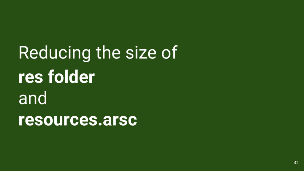 Reducing the size of res folder and resources.a...
