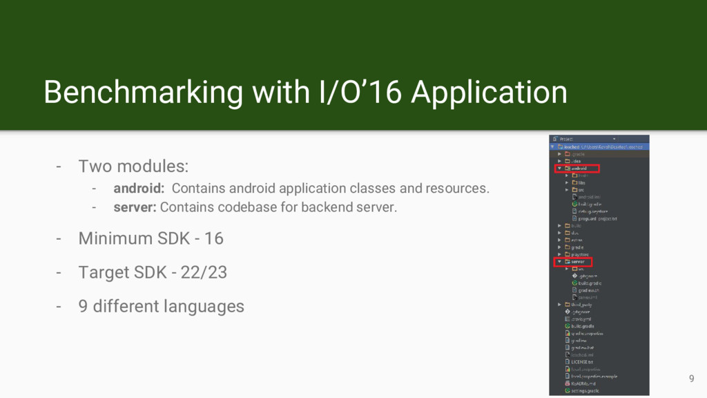 - Two modules: - android: Contains android appl...