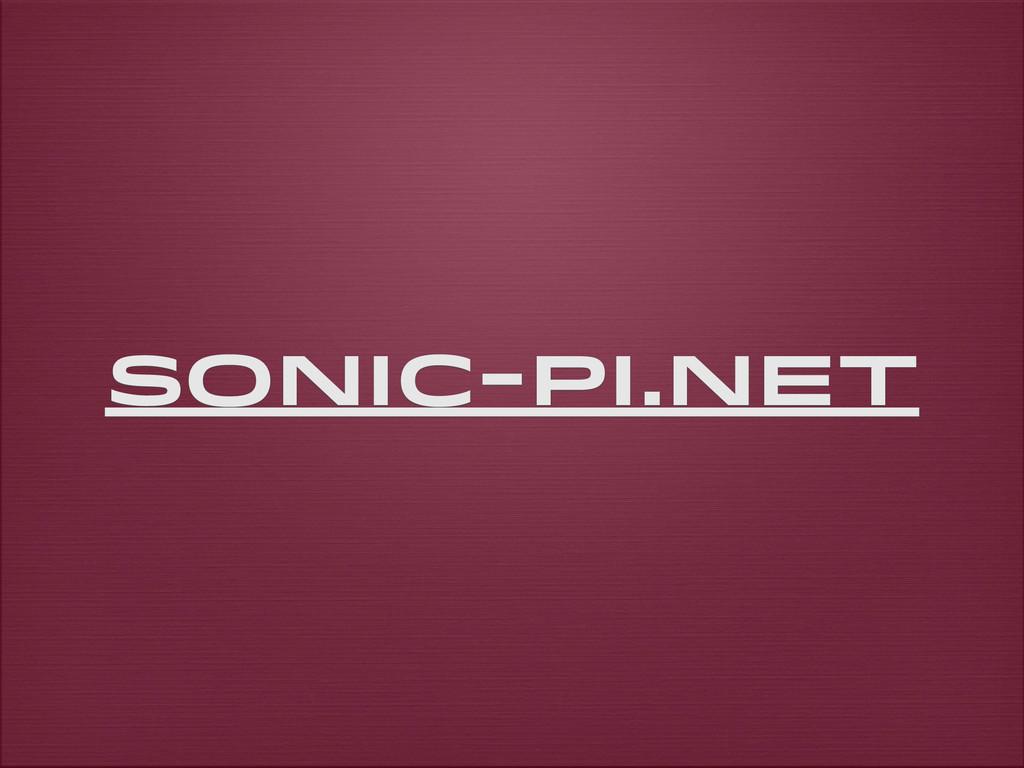 sonic-pi.net