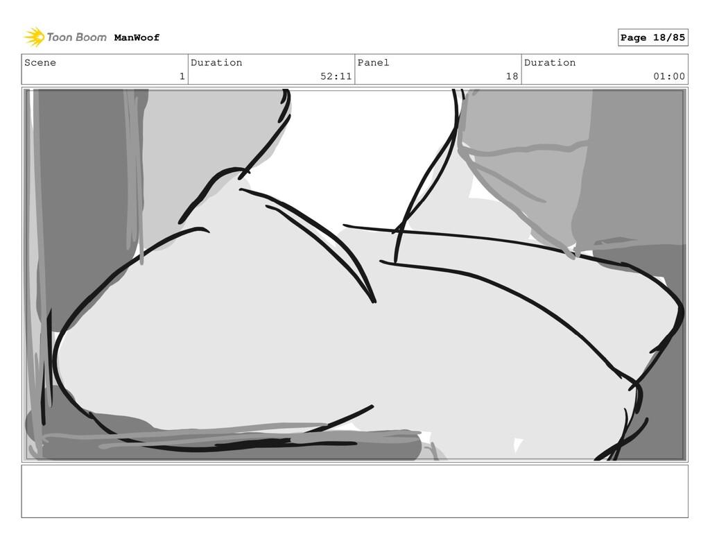 Scene 1 Duration 52:11 Panel 18 Duration 01:00 ...
