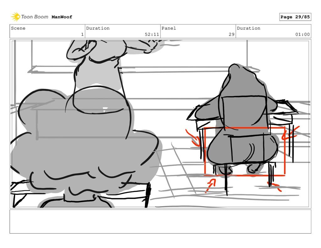 Scene 1 Duration 52:11 Panel 29 Duration 01:00 ...