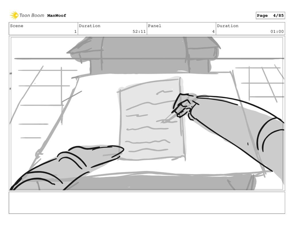 Scene 1 Duration 52:11 Panel 4 Duration 01:00 M...
